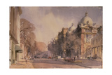 Winter Morning, Victoria and Albert Museum, 1990 Giclee Print by Trevor Chamberlain