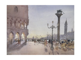 Early Morning, Piazzetta, Venice, 1989 Giclee Print by Trevor Chamberlain