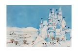 Snowman Castle, 1997 Giclee Print by Christian Kaempf