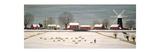 Winter Scene in Lincolnshire Giclée-tryk af Vincent Haddelsey