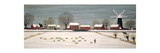 Winter Scene in Lincolnshire Giclee Print by Vincent Haddelsey