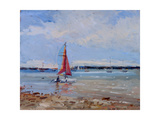Catamaran, Brittany Giclee Print by Christopher Glanville