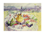 French Table Giclee Print by Elizabeth Jane Lloyd