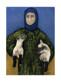Shepherdess, 1998 Giclee Print by Stevie Taylor