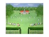 The Cricket Match, 1981 Giclee Print by Mark Baring