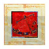 Millennium 'Scales' Giclee Print by Sabira Manek