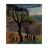 The Ramblers Club, 1988 Giclee Print by Lucy Raverat