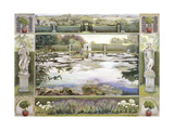The Lake, Garsington Giclee Print by Ariel Luke