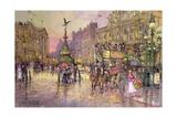 Flower Girls, Piccadilly Circus, London Wydruk giclee autor John Sutton