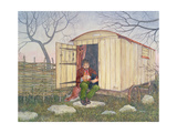 The Shepherd's Hut, from 'Far from the Madding Crowd', by Thomas Hardy Giclee Print by  Ditz