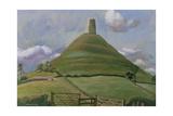 Glastonbury Tor Giclee Print by Osmund Caine