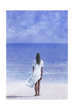 Girl on Beach, 1995 Giclee Print by Lincoln Seligman