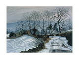Road to Deepdale, 1998 Giclee Print by John Cooke