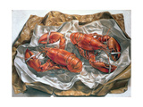 Lobsters, 1981 Giclee Print by Sandra Lawrence