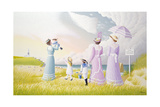 A Stroll on the Dunes Giclee Print by Peter Szumowski
