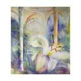 Lily at Syon House Giclee Print by Karen Armitage