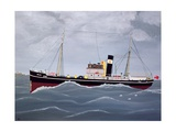 The Fishing Trawler Giclee Print by Vincent Haddelsey