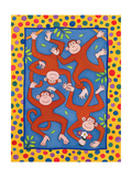 Cheeky Monkeys Giclee Print by Cathy Baxter