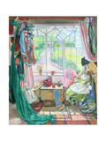 Bella's Room Giclee Print by Timothy Easton