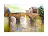 River Arun, Sussex Giclee Print by Karen Armitage