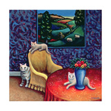 The Sitting Room Giclee Print by Jerzy Marek