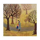 With Grandfather in Turkenschanzpark Giclee Print by  Ditz
