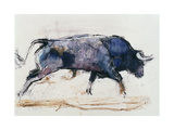 Charging Bull, 1998 Giclee Print by Mark Adlington