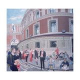 Promenaders at the Last Night, Royal Albert Hall, Detail Giclee Print by Huw S. Parsons