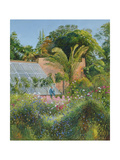 Cornflower Waves at Heligan Giclee Print by Timothy Easton