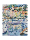 Riviera Yachts, 1996 Giclee Print by Peter Graham