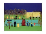 Fishing Pond Giclée-Druck von Micaela Antohi