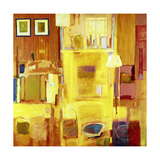 Room at Giverny, 2000 Giclee Print by Martin Decent