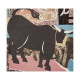 Aberdeen Angus Bull Giclee Print by John Wallington
