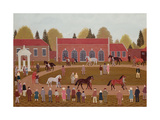 Racehorse Sales Giclee Print by Vincent Haddelsey