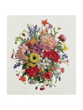 A Fragrant June Bouquet Giclee Print by Albert Williams