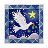 Christmas Dove Giclee Print by Cathy Baxter