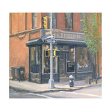 West Village Corner Shop, 1997 Giclee Print by Julian Barrow