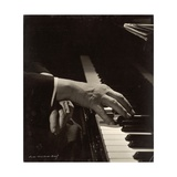 Rudolf Serkin's Hands Photographic Print by Lotte Meitner-Graf