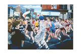 London Marathon, 1996 Giclee Print by Cristiana Angelini