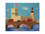 The Houses of Parliament Giclee Print by William Cooper