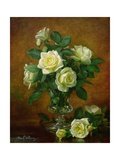 Yellow Roses Giclee Print by Albert Williams