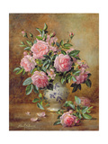 A Medley of Pink Roses Lámina giclée por Albert Williams