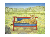 Millers' Mountain-Lion Giclee Print by  Ditz