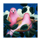 In the Pink Giclee Print by Jerzy Marek