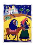 Journey to Bethlehem Giclee Print by Cathy Baxter