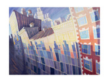 Sunset, Waverly Place, New York City, 1995 Giclee Print by Charlotte Johnson Wahl