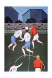 Football Giclee Print by Jerzy Marek