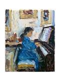 Practising, 1994 Gicléedruk van Patricia Espir