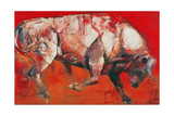 The White Bull, 1999 Giclee Print by Mark Adlington