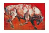 The White Bull, 1999 Giclee Print by Mark Adlington